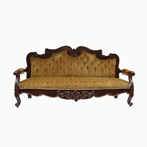 Antikes Sofa im Jugendstil, 1900er