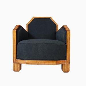 Französischer Art Deco Sessel, 1920er