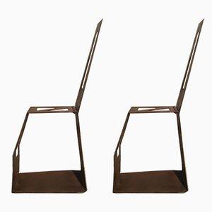 Chaises de Bureau de Officinadi Ricerca, 1960s, Set de 2
