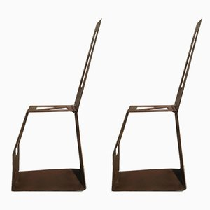 Schreibtischstühle von OfficinadiRicerca, 1960er, 2er Set