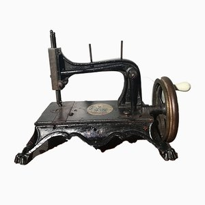 Antique Regina Margherita Sewing Machine by Isaac Merrit Singer for Singer Manifacturing Company