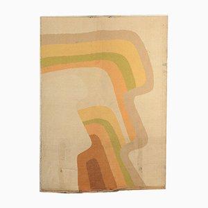 Alfombra Shaggy Rainbow vintage