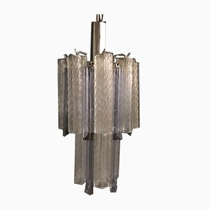 Mid-Century Murano Glass Chandelier by Paolo Venini, 1970s