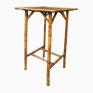Antiker viktorianischer Tisch aus Bambus