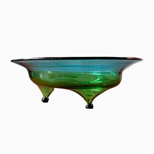 Vintage Glass Bowl, 1960s