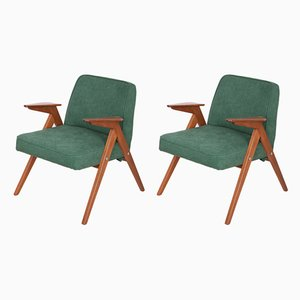 300-177 Bunny Armchairs by Józef Chierowski for Furniture Factory Świebodzice, 1960s, Set of 2