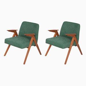 300-177 Bunny Armchairs by Józef Chierowski for Furniture Factory Świebodzice, 1960s, Set of 2