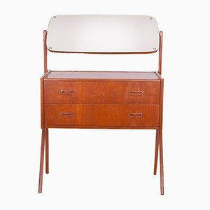 Danish Dressing Table from AG Spejl Kobberbeskyttet, 1960s