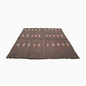 Türkischer Vintage Kelim Teppich aus Ziegenhaar, 1970er