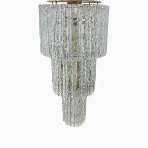 Lámpara de araña Tronchi austriaca grande de J. T. Kalmar para Kalmar, años 60