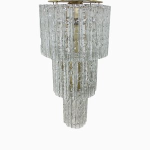 Large Austrian Tronchi Chandelier by J. T. Kalmar for Kalmar, 1960s
