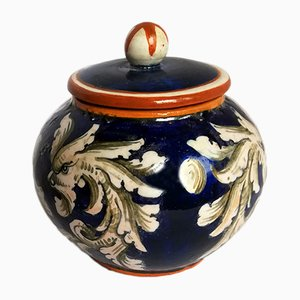 Mid-Century Ceramic Lidded Pot from Molaroni