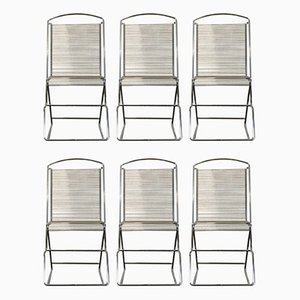 Vintage Space Age Dining Chairs, Set of 6