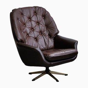 Vintage Leatherette Armchair, 1970s