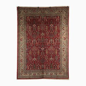 Vintage Cotton & Wool Carpet