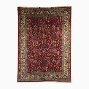 Vintage Teppich aus Baumwolle & Wolle