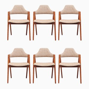 Dining Chairs by Kai Kristiansen, 1970s, Set of 6