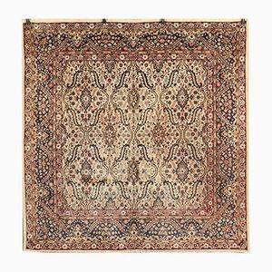 Teppich aus Baumwolle & Wolle, 1960er