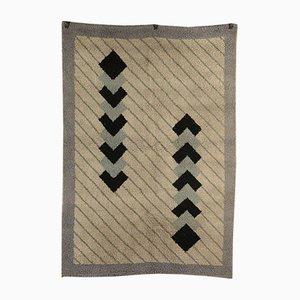 Teppich aus gemischtem Wollstoff, 1980er