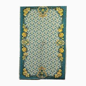 Shaggy Teppich mit geometrischem Muster, 1980er