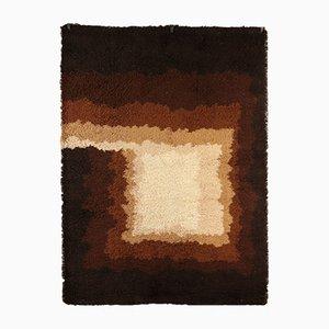 Vintage Teppich mit geometrischem Muster