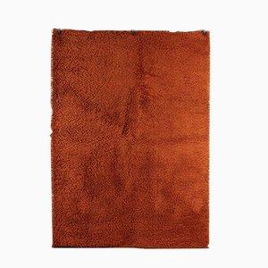 Vintage Shaggy Teppich in Orange