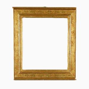 Antiker vergoldeter italienischer Rahmen