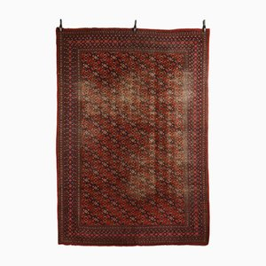 Tappeto vintage in cotone e lana, Turchia