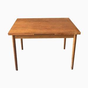Mesa de comedor sueca de teca, años 60