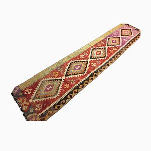 Turkish Kilim Runner, 1980s
