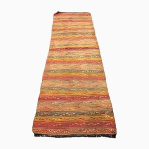 Turkish Kilim Runner, 1960s