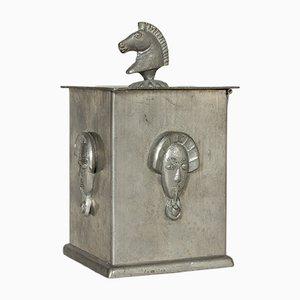 Boîte en Étain par Harald Linder, 1920s