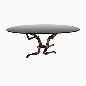 Brutalist Trinidad Coffee Table by Salvino Marsura, 1960s