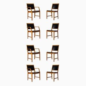 Chaises de Salle à Manger par Bertil Fridhagen pour Bodafors, 1950s, Set de 8