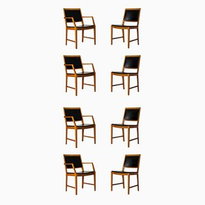 Dining Chairs by Bertil Fridhagen for Bodafors, 1950s, Set of 8