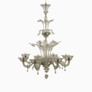 Antike Deckenlampe aus Muranoglas