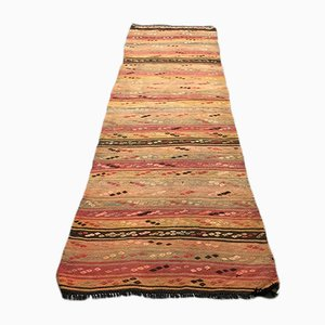 Turkish Kilim Runner, 1970s