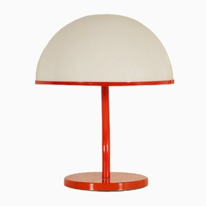 Mid-Century Plexiglas Table Lamp
