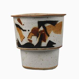 Vase en Grès par Per Rehfeldt pour Bornholm, 1979