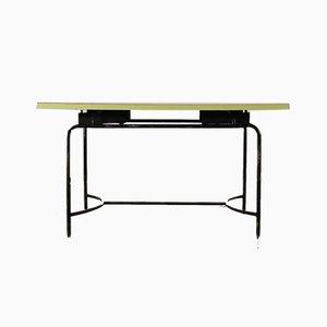 Italian Formica, Wood & Metal Coffee Table, 1960s