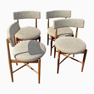 Esszimmerstühle von Victor Wilkins für G-plan, 1970er, 4er Set