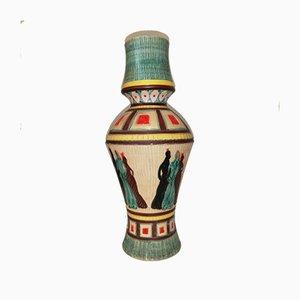 Mid-Century Keramikvase von Santucci Deruta