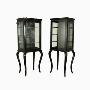 Antique Cabinets, Set of 2