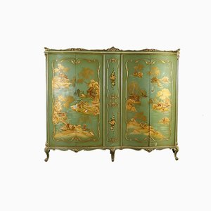 Antique Italian Lacquered Wardrobe