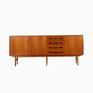 Italian Sideboard with Teak Veneer Doors, 1960s