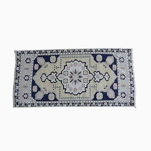 Handgewebter türkischer Vintage Yastik Teppich, 1970er