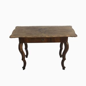 Antique Biedermeier Dining Table