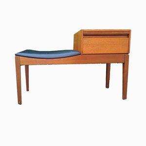 Bank mit Sitz aus Vinyl von Chippy Telephone Seats, 1960er