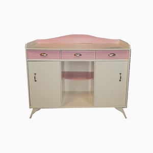 White and Pink Dressing Table, 1950s