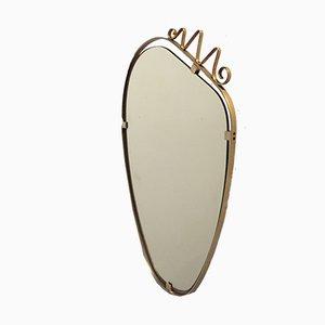 Mid-Century Italian Wall Mirror, 1960s
